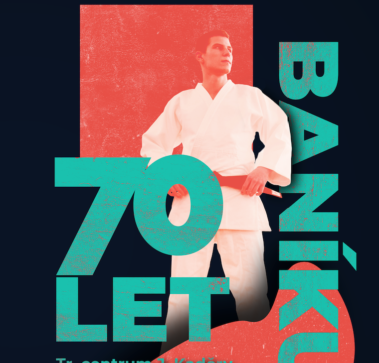 1. Judo club baník – plakát